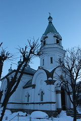 Russian Orthodox Church in Hakodate / ハリストス正教会