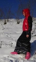 IMGP0018 (Karhu1) Tags: schnee snow shiny jacket nylon snowsuit jacke overall skianzug