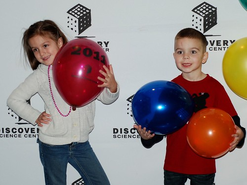 "Celebrating The ""Noon"" Ball Drop @ Discovery Science Center"