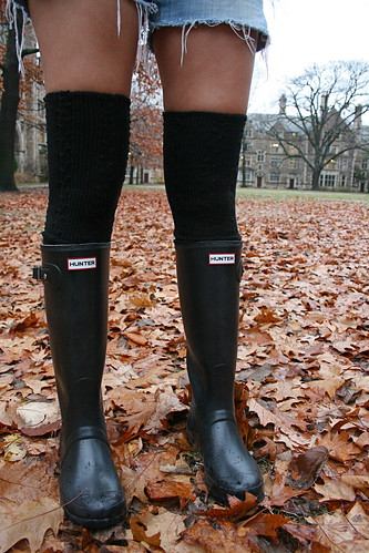 thigh high wellington  boots