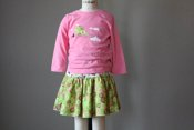Fresh embellished top & Twirling Skirt - 12m  **Celebrating 2011 with $0.11 shipping**