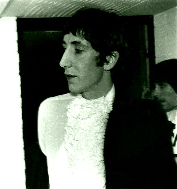 1967 - The Who - Pete Townshend + Keith Moon - Backstage