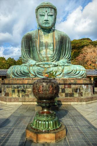 [フリー画像] 芸術・アート, 彫刻・彫像, 仏像・大仏, 日本, 神奈川県, 201101111900