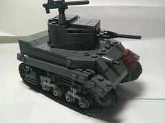 Stuart update ({Copper Bricks}) Tags: lego wwii stuart american m5