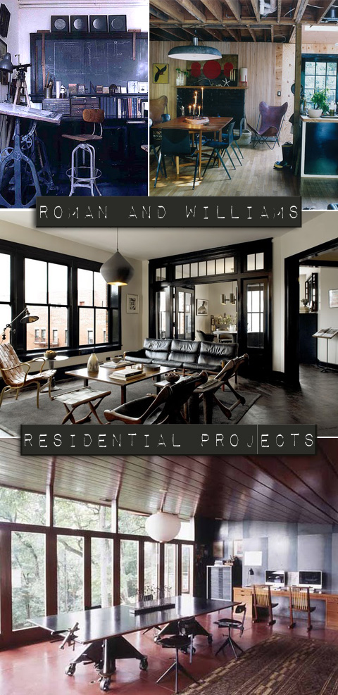 Roman and Williams residential proejcts