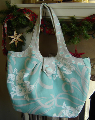 Teal & Gray Cosmo Bag