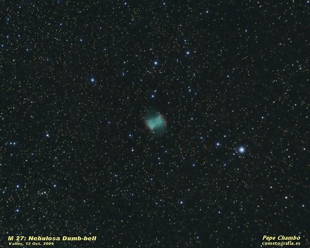 M 27: Dumb-bell Nebula