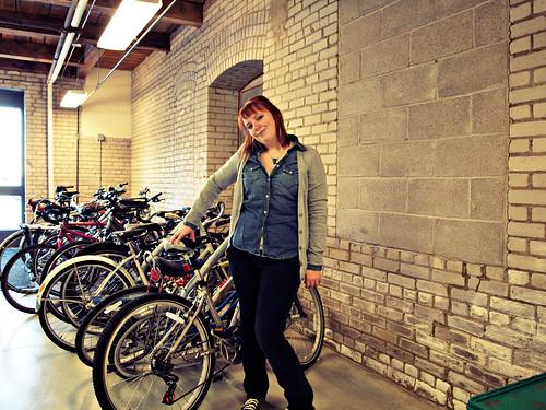 akward by bikes