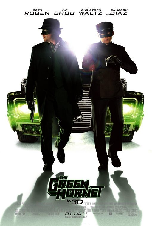 The Green Hornet 2011 movie poster