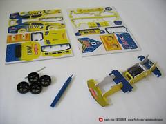 montagem carro de papel c/ fricção (saulo dias  designer ) Tags: car design carro papel montagem 2011 modelagem fricção
