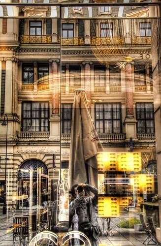 Glasses shop. Vienna. Tienda de gafas. Viena
