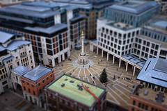 [フリー画像] 建築・建造物, 都市・街, ティルト・シフト・フェイク, イギリス, ロンドン, 201101181300