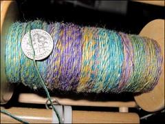 Agate Merino-silk, bobbin #1