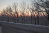 Sunrise (wmliu) Tags: trees usa snow sunrise us newjersey nj deck chatham wmliu