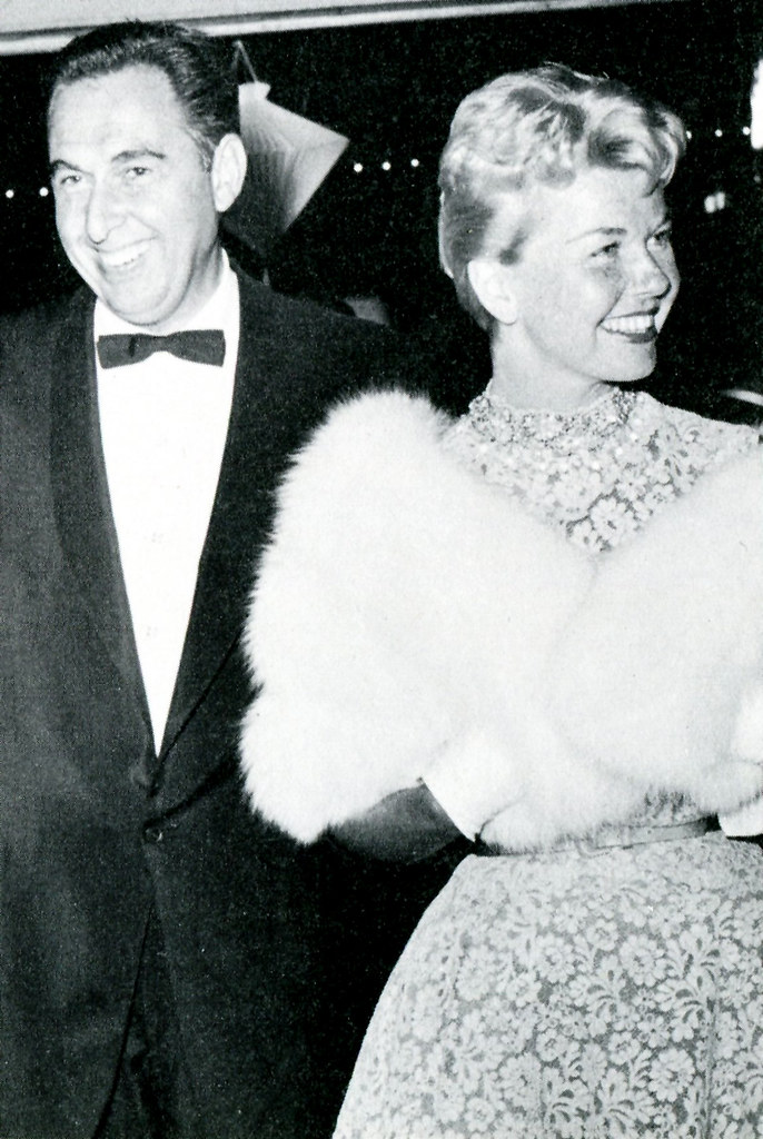 Martin Melcher and Doris Day