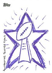 Tony Romo Sketch Card
