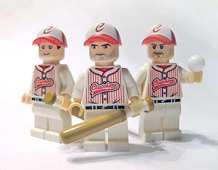 Custom minifig Baseball player custom lego minifigures