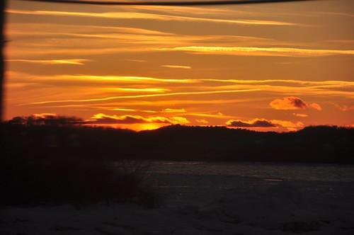 Hudson River Sunset 7