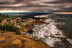 Oregon Coastline -2 (...-Wink-...) Tags: sea oregon coast rocks sigma 18200 dri photomatix nikond80