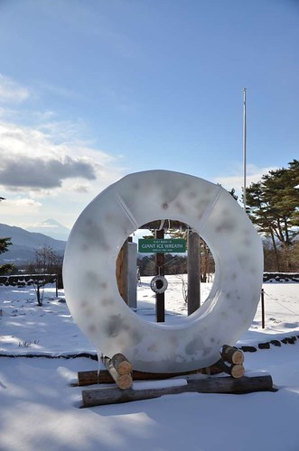 Huge wreath of ice@Seisenryo,Kiyosato.
