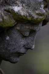 16:365 - Weathered (phil wood photo) Tags: statue angel weathered 365 day16 3652011 16012011 greyandmiserableandraining hinckleycemetery