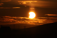 Partial Solar Eclipse over MLM Engineering (Westquoy) Tags: sun solar eclipse orkney partial partialsolareclipse orphir westquoy mlmengineering