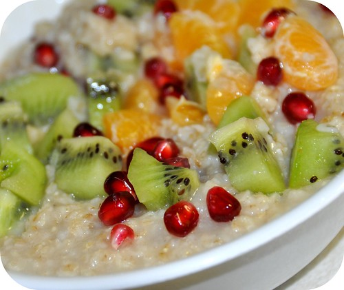 Soaked Fruity oats