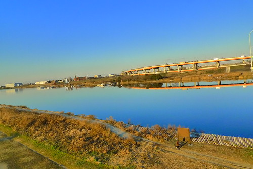 Arakawa in Afternoon Blue