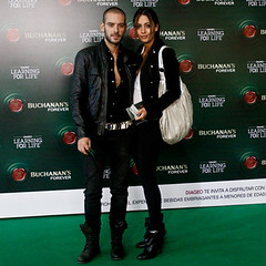 Diego Cadavid y Carolina Guerra