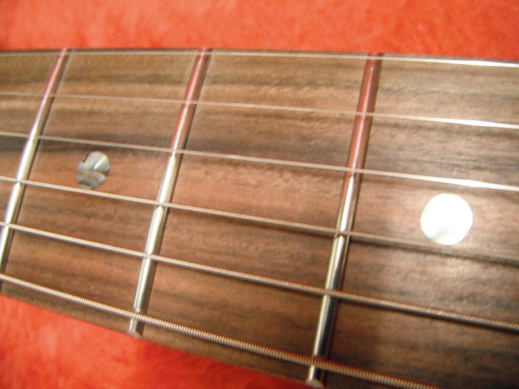 Warmoth neck on a Fender