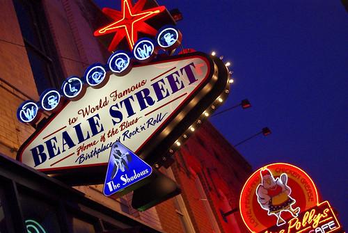 Beale St, Memphis TN