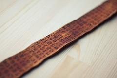 (ArtRulsDesign) Tags: raw handmade leatherbelt alexsteshak