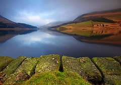 Saddleworth Mist (Charlotte Brett Photography) Tags: peakdistrict hill reservoir moor greenfield pennines saddleworth dovestone