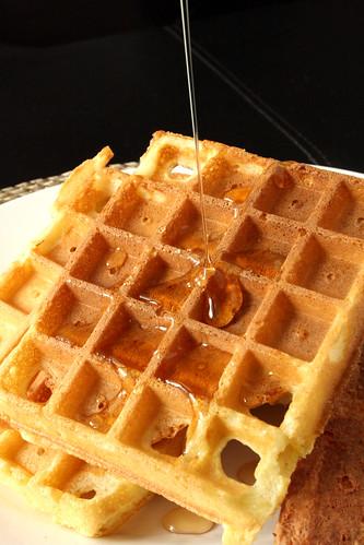 Christine Cushing's Lemon Waffles