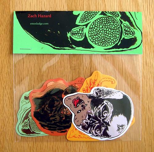 new sticker pack by zach hazard