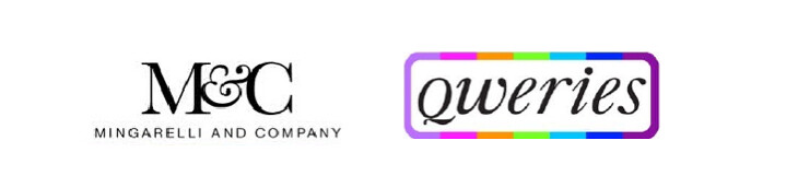 Mingarelli and Company and Qweries logos