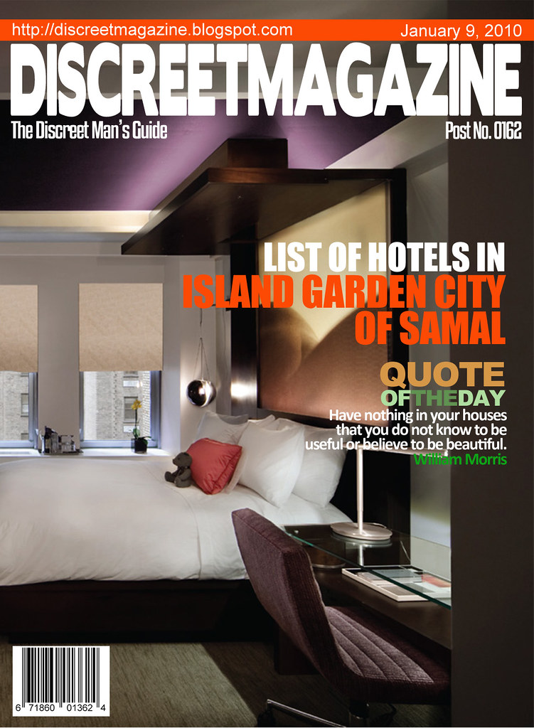 Discreet Magazine January 9 2010