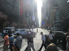 Suitcase Bomb Scare on 42nd Street 2016 NYC 5646 (Brechtbug) Tags: suitcase bomb scare 42nd street west st between 7th 8th avenues midtown manhattan police descended area following reports suspicious package which turned out be small rolling roped off front mcdonalds about 845 am while they investigated nyc 2016 new york city 09212016 false alarm fake bombs