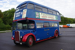 IMGP4791 (Steve Guess) Tags: donington park derby leicestershire nottingham bus rally gathering england gb uk east midlands ema aec regent rt london transport browns blue