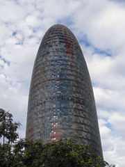 Torre Agbar (Nicote) Tags: is 38story skyscraper tower located between avinguda diagonal carrer badajoz barcelona spain by french architect jean nouvel opened june 2005 was officially king juan carlos