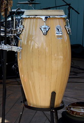 Barrel Drums 05: Conga (of Alba Cabral) (KM's Live Music shots) Tags: musicalinstrument hornbostelsachs membranophone conga drums cuba albacabral tonzee hornimanmuseum