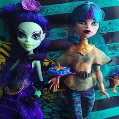 New Dolls! - Scream & Sugar Nefera De Nile & Amanita Nightshade (MyMonsterHighWorld) Tags: monster high mattel doll dolls reboot 2016 mh sugar and scream nefera de nile amanita nightshade