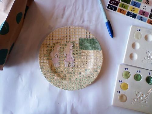 A little plate