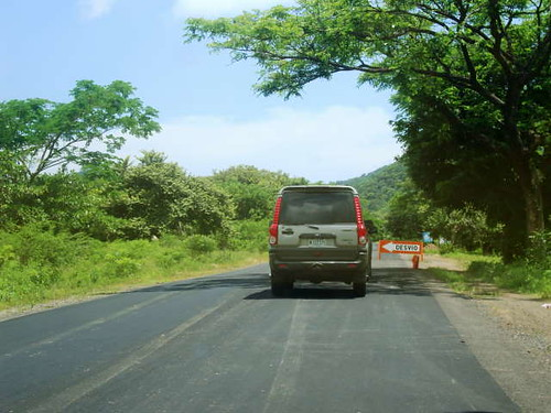 401-Nicaragua-San Juan Del Sur-EnRoute-See a Scorpio-Made in India- the beginnings of Indias car exports