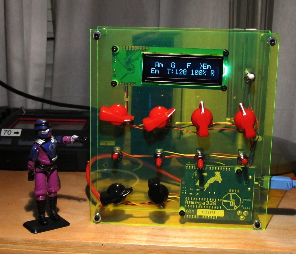 Arduino MIDI Sequencer