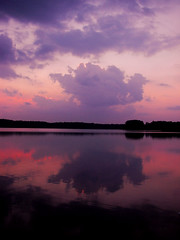 lingering colors (bdaryle) Tags: sunset nature reflections sony peaceful brandondaryle bdaryle imagesbybrandon