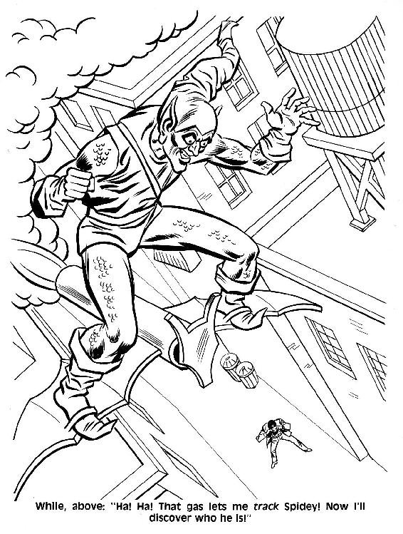 Spider-Man Unmasked! Coloring Book018