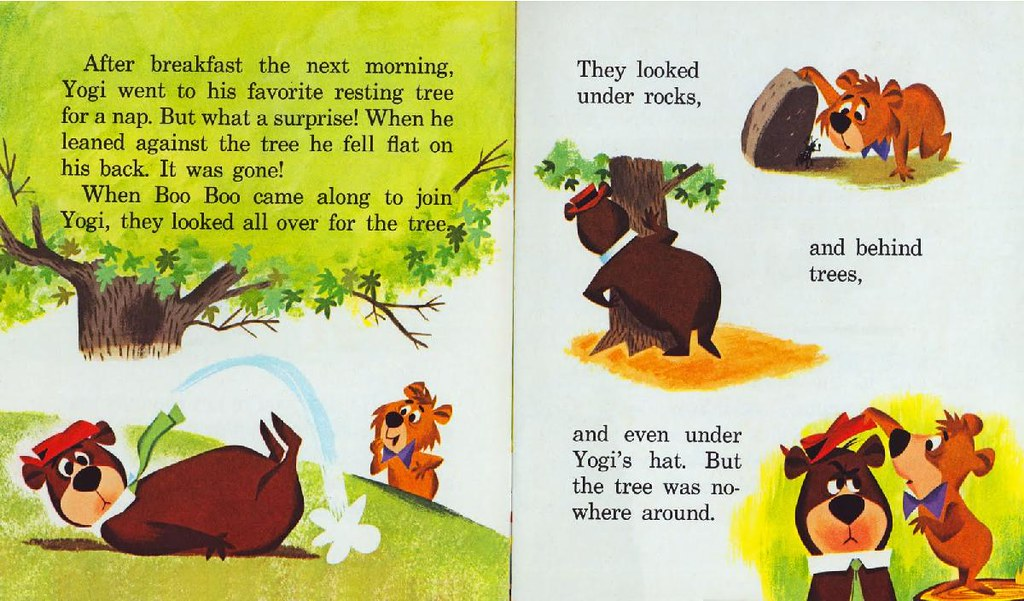 Yogi Bear & the Cranky Magician007
