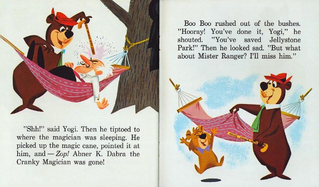 Yogi Bear & the Cranky Magician013