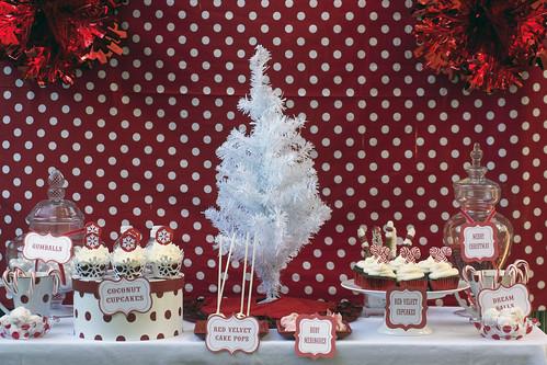 Christmas Dessert Bar